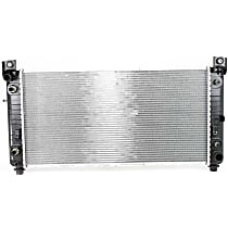 """Item Auto Radiator RDXP2370 - Plastic, Aluminum, 34x17"""" core(41"""" overall width); w/Auto Trans Cooler and Engine Oil Cooler, Direct Fit"""