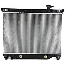 Item Auto Radiator RDXP2458 - Plastic, Aluminum, Direct Fit; 6cyl Engine