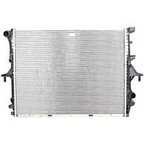 Aluminum Core Plastic Tank Radiator, 27.99 x 21.48 x 1.73 in. Core Size