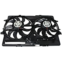 OE Replacement Radiator Fan - Fits Control Module Not Included