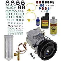Item Auto A/C Compressor Kit - REPA191103 - Includes New Compressor, w/6-Groove Pulley, 3.2L