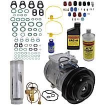 Item Auto A/C Compressor Kit - REPA191106 - Includes New Compressor, w/5-Groove Pulley