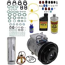 Item Auto A/C Compressor Kit - REPA191108 - Includes New Compressor, w/5-Groove Pulley