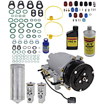 Item Auto A/C Compressor Kit - REPA191109 - Includes New Compressor, w/7-Groove Pulley