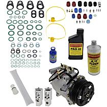 Item Auto A/C Compressor Kit - REPA191112 - Includes New Compressor, w/7-Groove Pulley