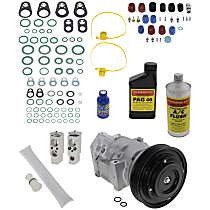 Item Auto A/C Compressor Kit - REPA191115 - Includes New Compressor, w/6-Groove Pulley