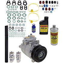 Item Auto A/C Compressor Kit - REPA191116 - Includes New Compressor, w/6-Groove Pulley