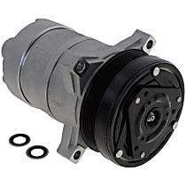 Item Auto A/C Compressor - REPA191117 - Sold Individually, New, w/6-Groove Pulley, 3.5L/4.6L