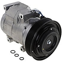 Item Auto A/C Compressor - REPA191121 - Sold Individually, New, w/6-Groove Pulley, w/Rear Air