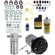 Item Auto A/C Compressor Kit - REPB191111 - Includes New Compressor, w/6-Groove Pulley