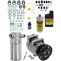 Item Auto A/C Compressor Kit - REPB191115 - Includes New Compressor, w/6-Groove Pulley, 3.1L