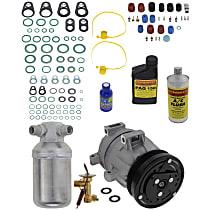 Item Auto A/C Compressor Kit - REPB191121 - Includes New Compressor, w/5-Groove Pulley, 2.4L