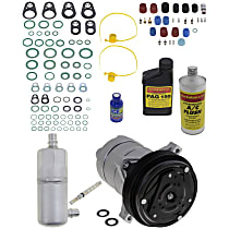 Item Auto A/C Compressor Kit - REPB191129 - Includes New Compressor, w/6-Groove Pulley, Supercharged Models