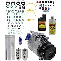 Item Auto A/C Compressor Kit - REPB191130 - Includes New Compressor, w/5-Groove Pulley