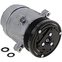 Item Auto A/C Compressor - REPB191137 - Sold Individually, New, w/6-Groove Pulley, 3.8L