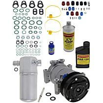 Item Auto A/C Compressor Kit - REPC191136 - Includes New Compressor, w/6-Groove Pulley, 4.3L, OE-style Compressor