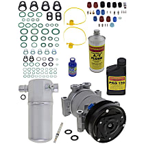 Item Auto A/C Compressor Kit - REPC191136 - Includes New Compressor, w/6-Groove Pulley, 4.3L, OE-style Compressor