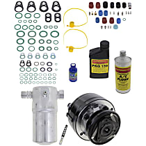 Item Auto A/C Compressor Kit - REPC191138 - Includes New Compressor, w/6-Groove Pulley, w/o Rear Air, OE-style Compressor