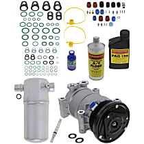 Item Auto A/C Compressor Kit - REPC191139 - Includes New Compressor, w/6-Groove Pulley, 4.3L, OE-style Compressor