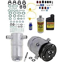 Item Auto A/C Compressor Kit - REPC191140 - Includes New Compressor, w/5-Groove Pulley, 2.2L/2.3L