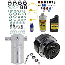 Item Auto A/C Compressor Kit - REPC191141 - Includes New Compressor, w/6-Groove Pulley, OE-style Compressor