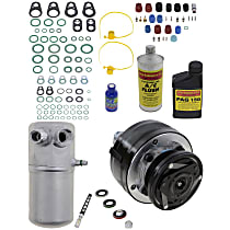 Item Auto A/C Compressor Kit - REPC191142 - Includes New Compressor, w/6-Groove Pulley, OE-style Compressor