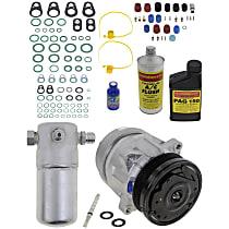 Item Auto A/C Compressor Kit - REPC191157 - Includes New Compressor, w/6-Groove Pulley, 2.2L