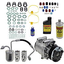 Item Auto A/C Compressor Kit - REPCV191119 - Includes New Compressor, w/6-Groove Pulley, 3.4L, 1-Bolt Exp. Valve type, Temp Sensor not Included