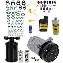 Item Auto A/C Compressor Kit - REPCV191150 - Includes New Compressor, w/6-Groove Pulley