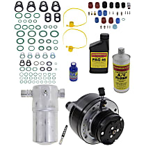 Item Auto A/C Compressor Kit - REPCV191158 - Includes New Compressor, w/6-Groove Pulley, Scroll-type Compressor