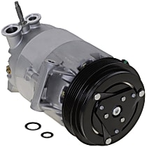Item Auto A/C Compressor - REPCV191174 - Sold Individually, New, w/5-Groove Pulley, 2.2L