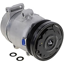 Item Auto A/C Compressor - REPCV191175 - Sold Individually, New, w/4-Groove Pulley