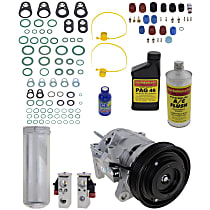 Item Auto A/C Compressor Kit - REPD191113 - Includes New Compressor, w/6-Groove Pulley, 3.3L, w/o Rear Air