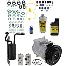 Item Auto A/C Compressor Kit - REPD191116 - Includes New Compressor, w/1-Groove Pulley, 3.3L/3.5L