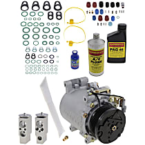 Item Auto A/C Compressor Kit - REPD191133 - Includes New Compressor, w/5-Groove Pulley, 2.4L, Coupe