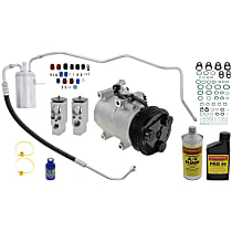Item Auto A/C Compressor Kit - REPD191136 - Includes New Compressor, w/6-Groove Pulley, 2.4L, Sedan & Convertible, From 07/03