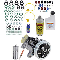 Item Auto A/C Compressor Kit - REPD191144 - Includes New Compressor, w/6-Groove Pulley, 4.7L