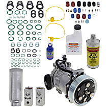 Item Auto A/C Compressor Kit - REPD191146 - Includes New Compressor, w/7-Groove Pulley, 3.9L/5.2L/5.9L, w/o Rear Air