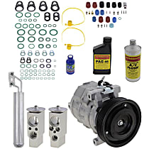 Item Auto A/C Compressor Kit - REPD191169 - Includes New Compressor, w/6-Groove Pulley, 3.5L, w/Standard or Heavy Duty Cooling