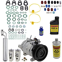Item Auto A/C Compressor Kit - REPD191175 - Includes New Compressor, w/6-Groove Pulley, 5.7/6.1L, w/Standard or Heavy Duty Cooling