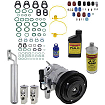 Item Auto A/C Compressor Kit - REPD191180 - Includes New Compressor, w/6-Groove Pulley, 2.7L, w/Standard or Heavy Duty Cooling
