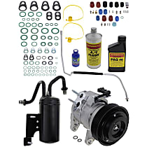 Item Auto A/C Compressor Kit - REPD191188 - Includes New Compressor, w/7-Groove Pulley, 5.7L