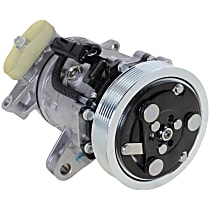 Item Auto A/C Compressor - REPD191193 - Sold Individually, New, w/6-Groove Pulley, 4.7L, w/o Rear Air