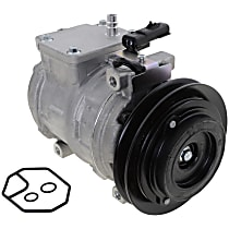 Item Auto A/C Compressor - REPD191196 - Sold Individually, New, w/1-Groove Pulley, 3.0L, w/Rear Air
