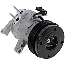 Item Auto A/C Compressor - REPD191199 - Sold Individually, New, w/6-Groove Pulley, 3.7L/4.7L