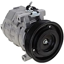 Item Auto A/C Compressor - REPDG191105 - Sold Individually, New, w/6-Groove Pulley, 3.5L, w/Severe Duty Cooling