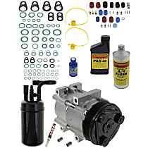 Item Auto A/C Compressor Kit - REPF191129 - Includes New Compressor, w/6-Groove Pulley, 3.0L/4.0L