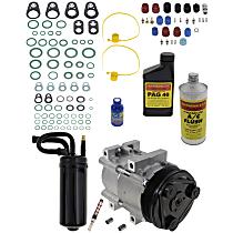 Item Auto A/C Compressor Kit - REPF191132 - Includes New Compressor, w/6-Groove Pulley, 3.0L/4.0L