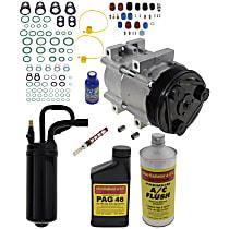 Item Auto A/C Compressor Kit - REPF191145 - Includes New Compressor, w/6-Groove Pulley, 3.0L/4.0L
