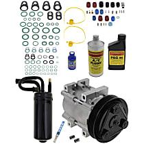 Item Auto A/C Compressor Kit - REPF191153 - Includes New Compressor, w/6-Groove Pulley, 2.3L